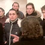 Alle Handwerker lauschen dem Vortrag Hürner im Savoy ZH