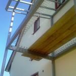 Neues Balkonfachwerk