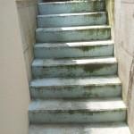 Zu sanierende Treppe