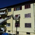 Fassadensanierung mit Hebebühne
