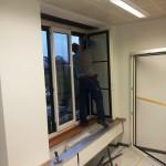 Neue Fenster an der BHFstrasse