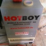 Hot Boy für kühle Baustellen