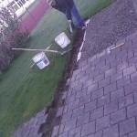 Gartenbauer und Baumeister Vorarbeiten